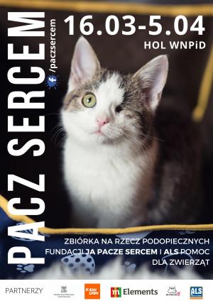 Weź udział w akcji #PACZSERCEM - pomóż zwierzętom w potrzebie