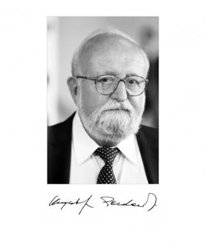 Wspomnienie - Krzysztof Penderecki doktorem honoris causa UAM