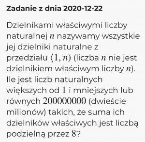Adwentowe konkursy matematyków z UAM popularne wśród uczniów
