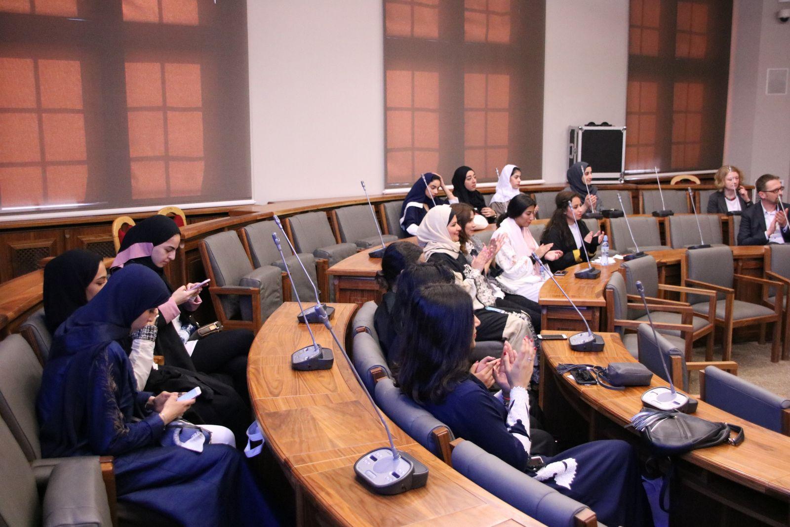 Delegacja z Prince Sultan University z Arabii Saudyjskiej