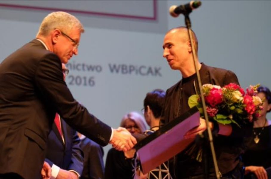 Szczepan Kopyt laureatem Poznańskiej Nagrody Literackiej