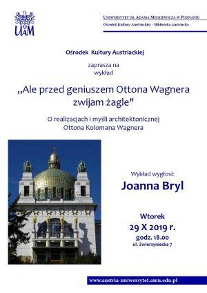 Wykład Joanny Bryl: