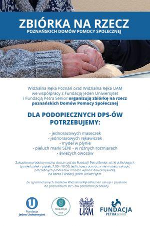 Pomocna dłoń i wdzięczność - akcja na rzecz DPS