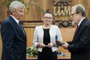 Medal Homini Vere Academico dla prof. Bronisława Marciniaka