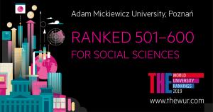 Dobre notowania uniwersyteckich nauk społecznych i nauk o edukacji