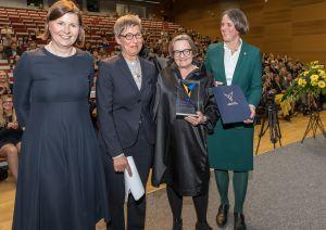 Milczenie nie było w jej stylu – reżyserka Agnieszka Holland uhonorowana 19. Nagrodą Viadriny
