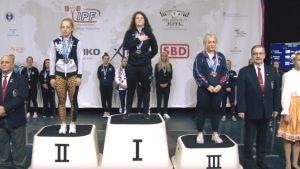 Marika Zandecka srebrną medalistką