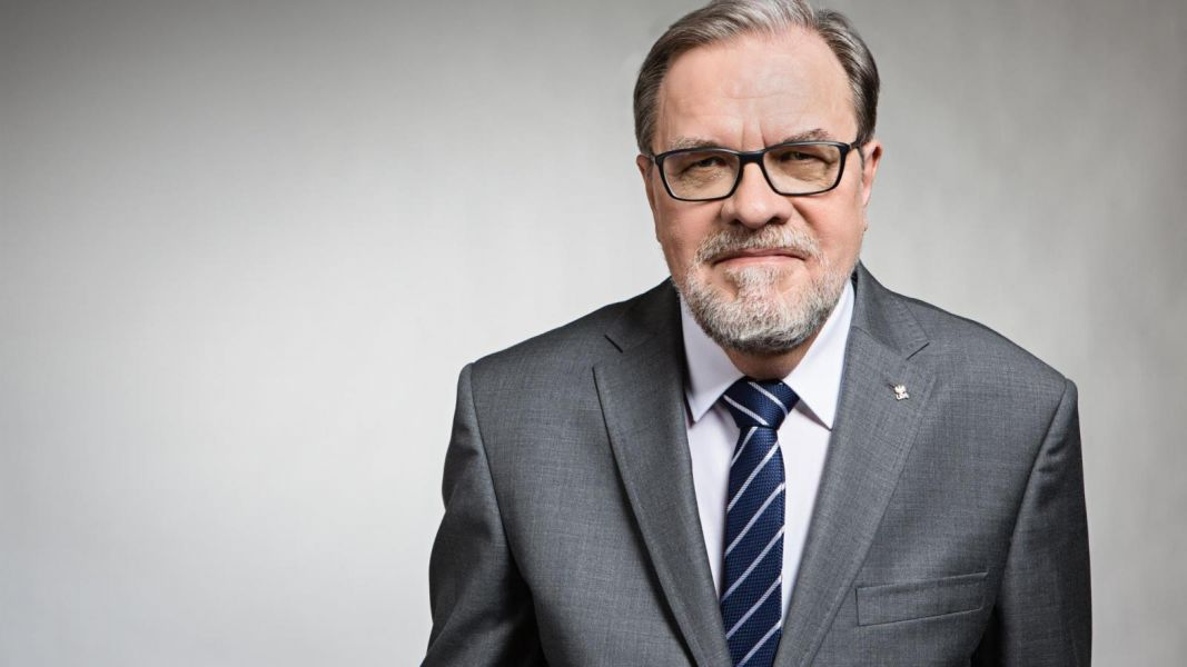 Rektor pro. Andrzej Lesicki