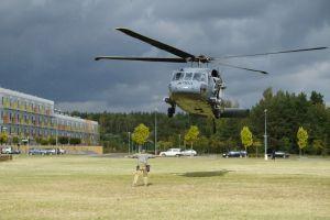 Black Hawk na WNPiD. Ćwiczenia wielkopolskiej policji.