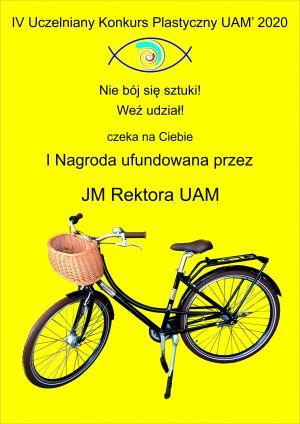 Wygraj nagrodę Rektora UAM! IV Uczelniany Konkurs Plastyczny UAM