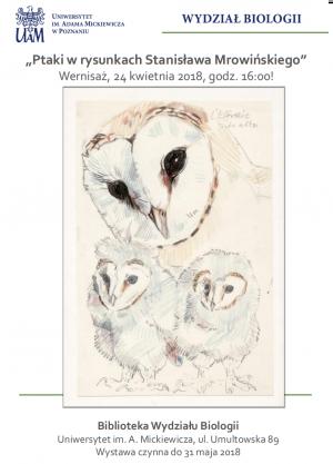 Nieznane grafiki Stanisława Mrowińskiego na Wydziale Biologii