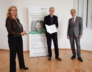 Wręczenie Nagrody Humboldta prof. Krzysztofowi Kozłowskiemu