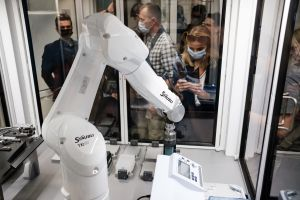 Super robot z Centrum Zaawansowanych Technologii UAM