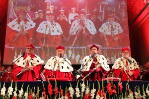 Inauguracja na cztery berła