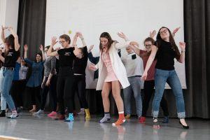 Tańczące skarpetki na WSE