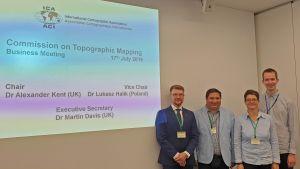 Dr inż. Łukasz Halik wiceprzewodniczącym komisji ds. map topograficznych MAK
