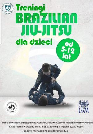 Brazylijskie jui jitsu dla dzieci pracowników