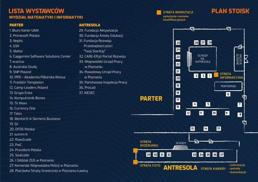 mapka XXII Akademia Rozwoju