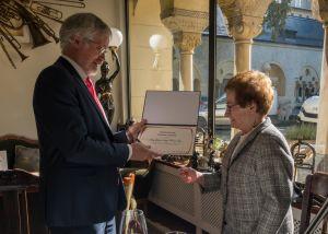 Prof. dr hab. Edyta Połczyńska wyróżniona przez ambasadora Republiki Federalnej Niemiec