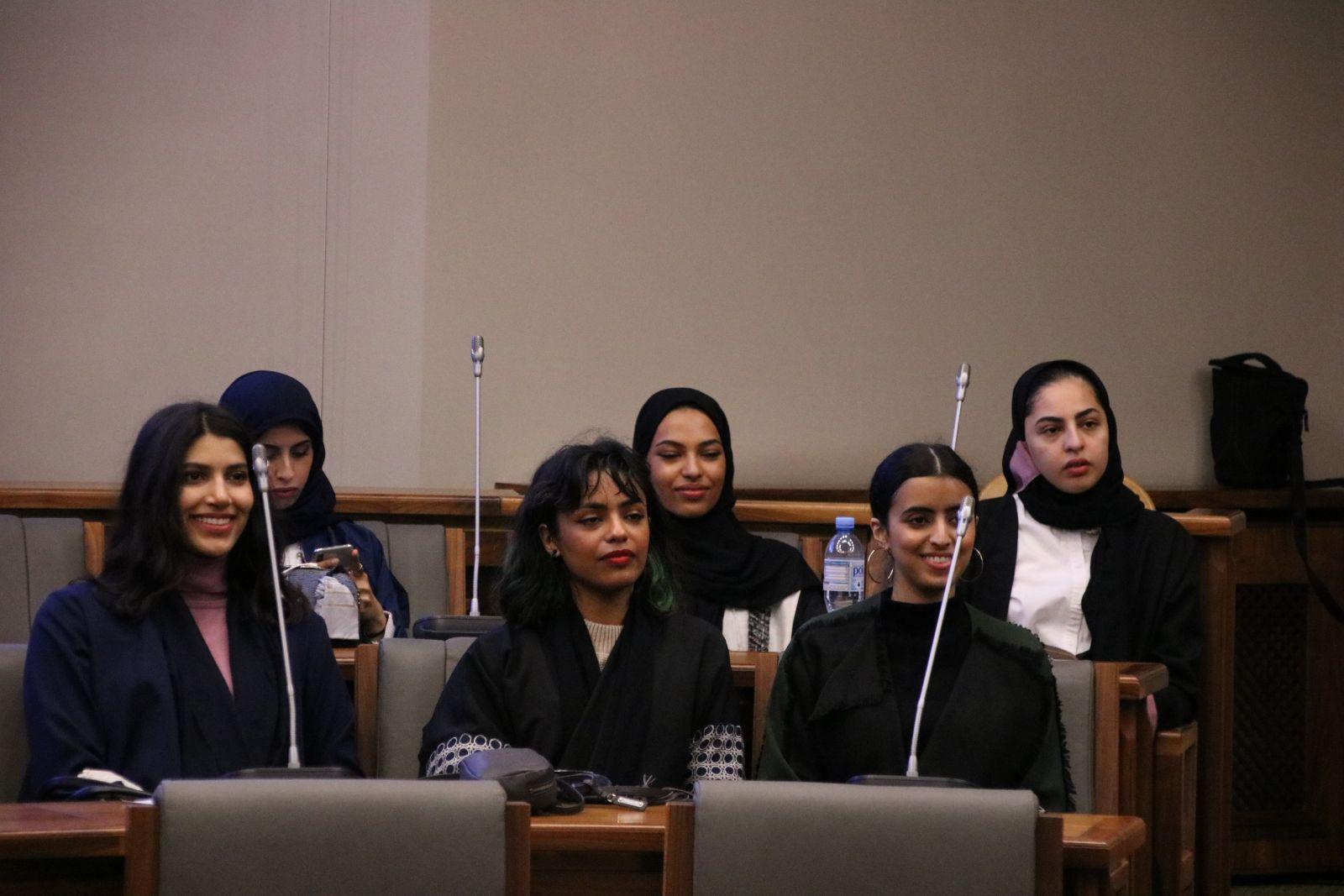 Delegacja studentek z Prince Sultan University z Arabii Saudyjskiej