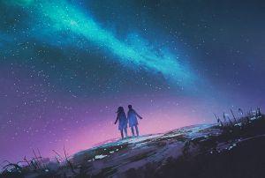 O kobietach patrzących w niebo