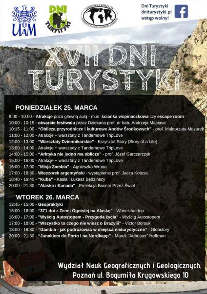 program dni turystyki