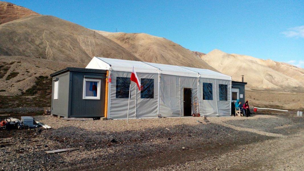 stacja na spitsbergenie
