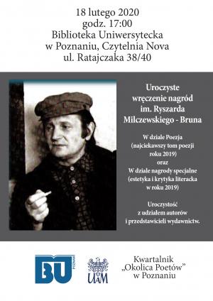 Wręczenie nagród Ryszarda Milczewskiego-Bruna