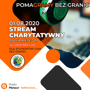 PomaGRAMY Bez Granic - 24-godzinny Livestream Charytatywny