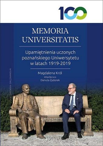 """Okładka książki """"MEMORIA UNIVERSITATIS"""""""