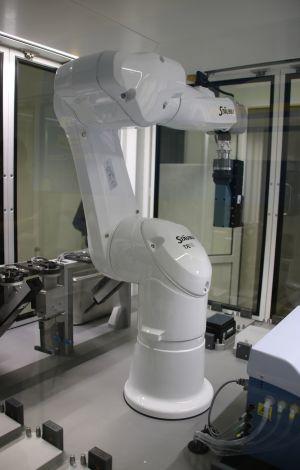 Robotyczne ramię na CZT UAM uruchomione