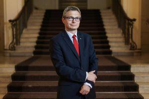 Kanclerz dr Marcin Wysocki. Minął rok na urzędzie