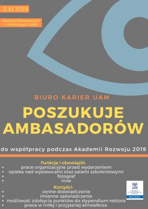Nabór na Ambasadorów Biura Karier