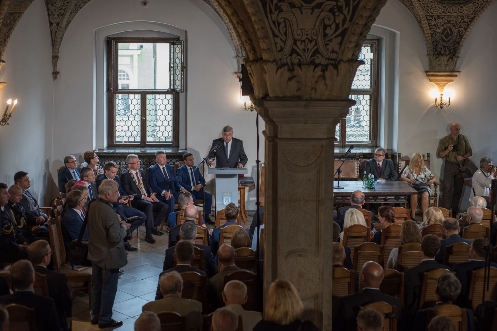 Zdjęcie - uroczysta sesji Rady Miasta, w dniu patronów Piotra i Pawła