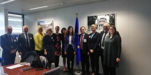 Władze UAM z wizytą w Brukseli