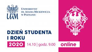 Dzień Studenta I roku - wydarzenie online