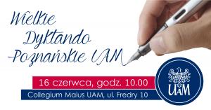 UAM szuka mistrza ortografii wśród poznaniaków!