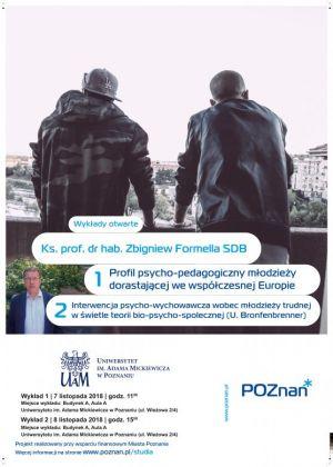 Wykład otwarty w ramach Projektu realizowanego przy wsparciu finansowym Miasta Poznania