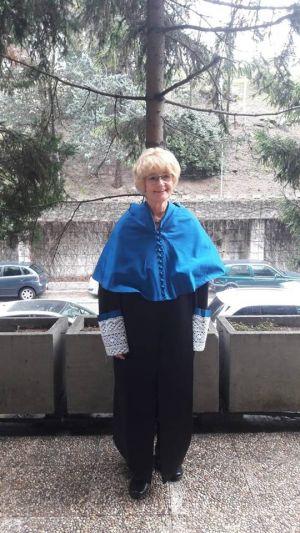 Prof. Maria Ziółek z tytułem honorowym madryckiego uniwersytetu