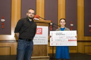 Studentka sinologii nagrodzona przez Polsko Chińską Radę Biznesu