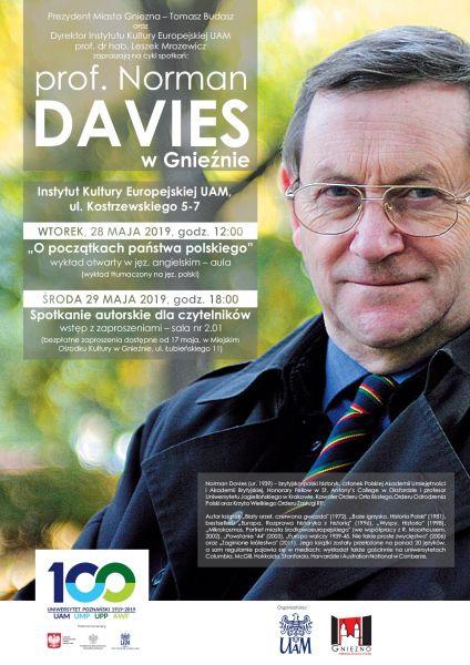 Norman Davies w Gnieźnie