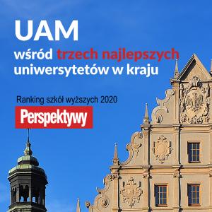 Wśród najlepszych polskich uczelni znajduje się UAM