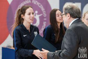 Najlepsi sportowcy UAM nagrodzeni stypendium Fundacji UAM