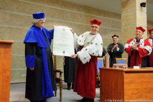 Prof. Zbyszko Melosik Doktorem Honorowym Uniwersytetu Szczecińskiego