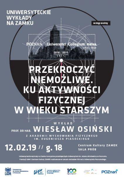 plakat wykład na zamku luty 2019