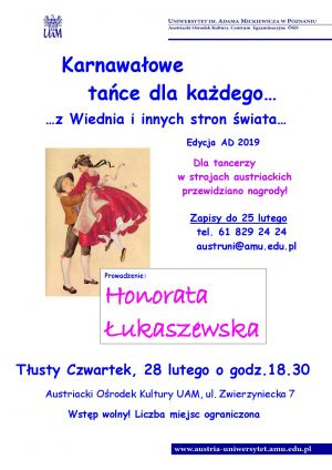 Karnawałowe tańce dla każdego... z Wiednia i innych stron świata
