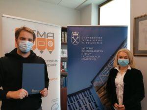 Nagroda Polskiego Towarzystwa Komunikacji Społecznej dla naukowca z UAM
