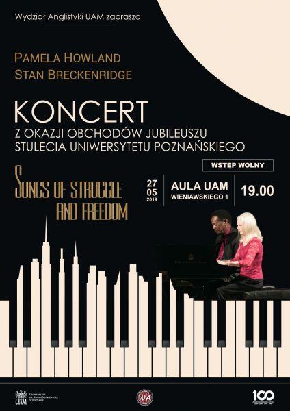 Koncert Pameli Howland i Stana Breckenridge'a