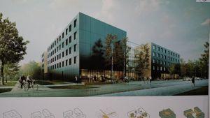 Nowy akademik stanie na Morasku