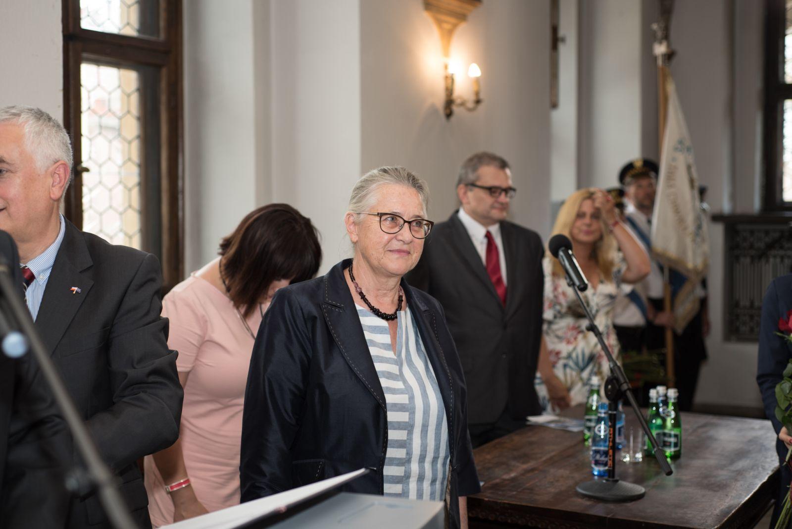 Zdjęcie - prof. zw. dr hab. Hanna Kóčki-Krenz w dniu 29.czerwca 2017